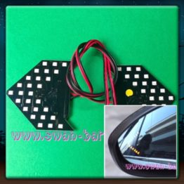 27SMD Side Mirror Sequential LED Arrow Panel Turn Signal Light Singapore