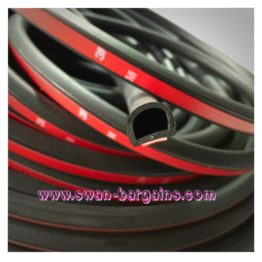 3M Big D Universal Car Sound Proof Rubber Seal Strip | Singapore Car Accessories