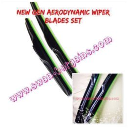 Aerodynamic Wiper Blade Set SG