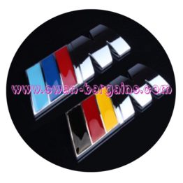 BMW M Power Performance Alloy Trunk Emblem Singapore