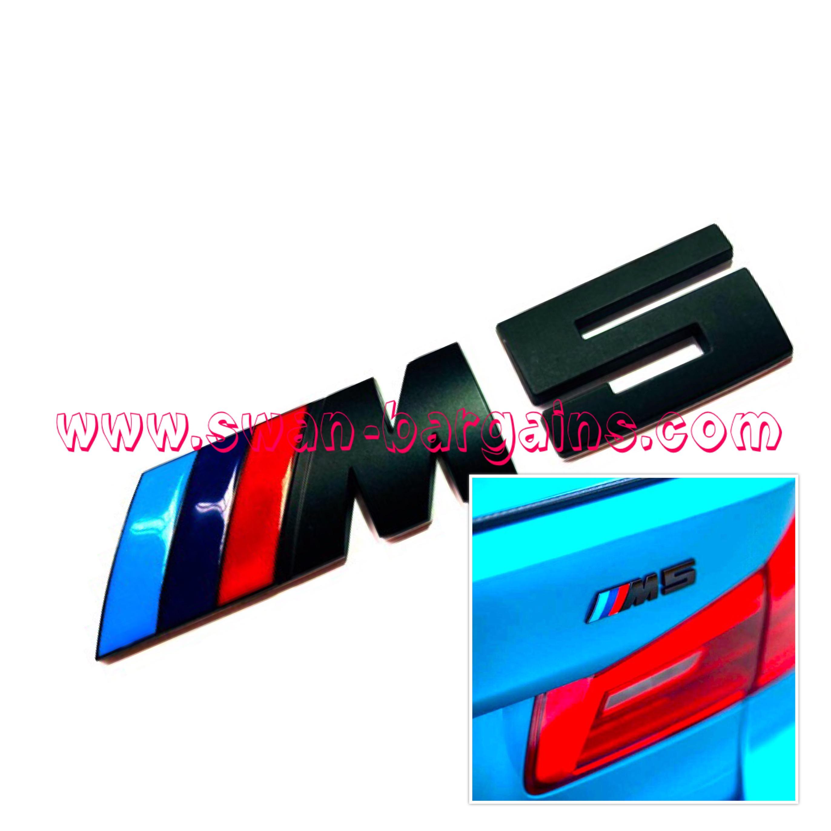 Bmw M Power Performance Alloy Trunk Emblem Sg Car Emblems