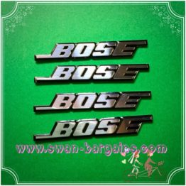 3D Bose Badge Emblem Logo - Decal Type | Online Car Accessories Singapore