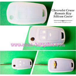 Chevrolet Cruze Remote Key Silicon Cover - Semi Transparent | Cruze Accessories Singapore