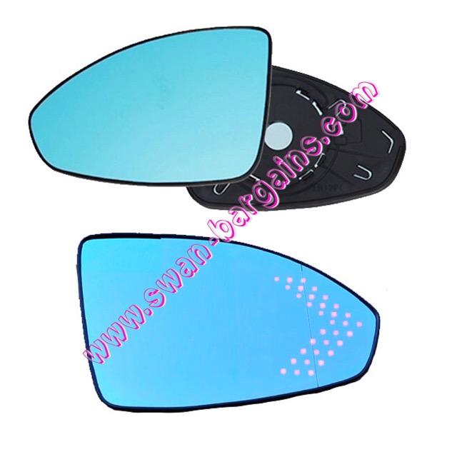 Cruze Anti Glare Hd Blue Wide Angle Side Mirror