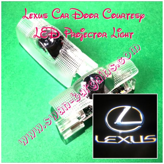 Lexus Integrated Door Courtesy Led Projector Lamp Sg