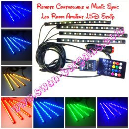 Music Sync RC Legroom Ambient LED Strip