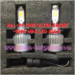 Ultra Bright HB4 9006 All-in-One LED Headlamp Bulb Singapore