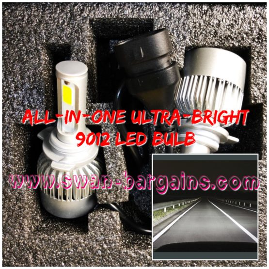 Ultra Bright 9012 All-in-One LED Headlamp Bulb Singapore