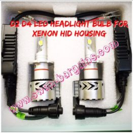 Ultra Bright D2S D4S LED Headlamp Bulb Singapore