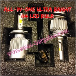 Ultra Bright H4 All-in-One LED Headlamp Bulb Singapore