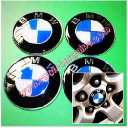 Universal Sports Rim Center Wheel Hub Cap Decal Singapore - BMW Blue