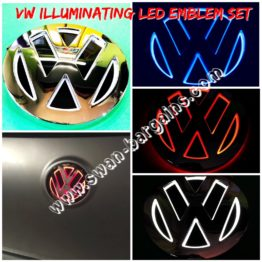Volkswagen VW Illuminating LED Rear Batch Emblem Singapore